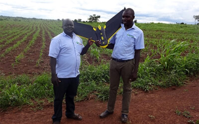 Drone technology impacts agricultural productivity in Africa